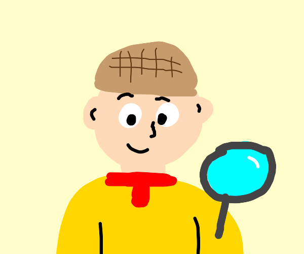 Caillou detective