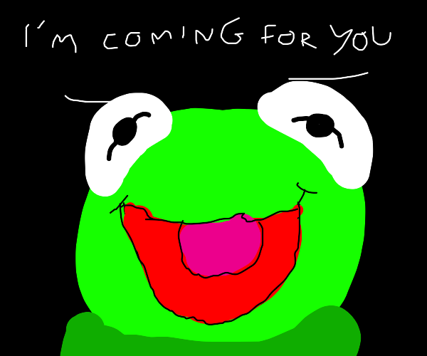 Creepy Kermit