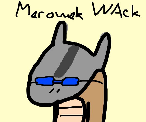 Wack meme but it's marowak
