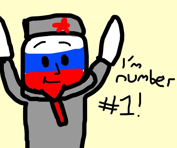 Countryhuman Russia is Number #1!