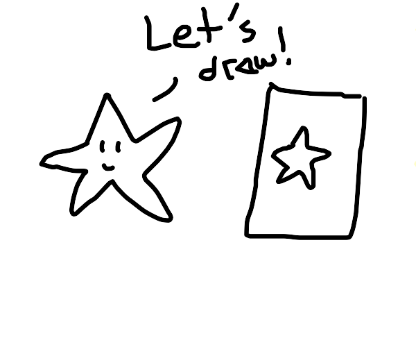 Drawing with a Star