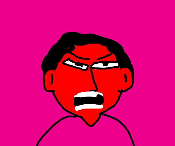 Angri Boi screams