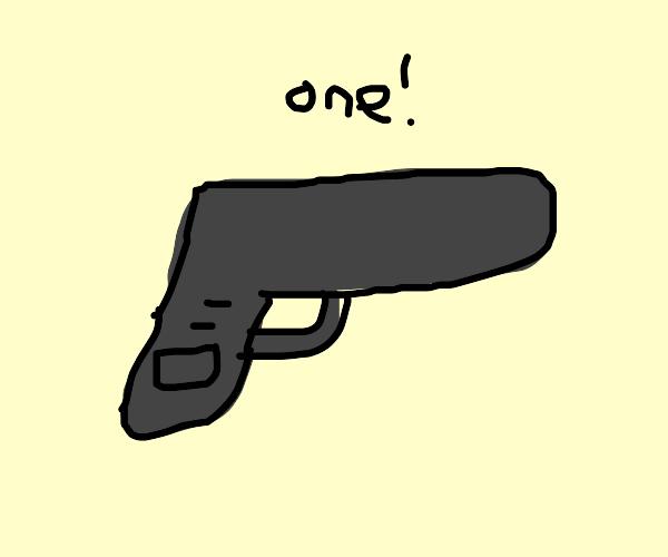 Only 1 gun