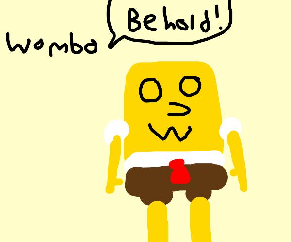 wombo turns sponebob into spOWOngesbob