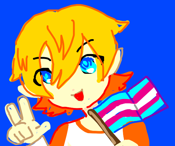 your pride flag!