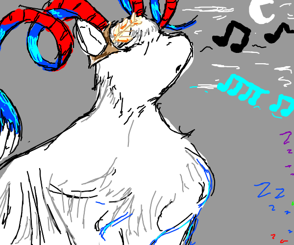 Goat sings a lullaby