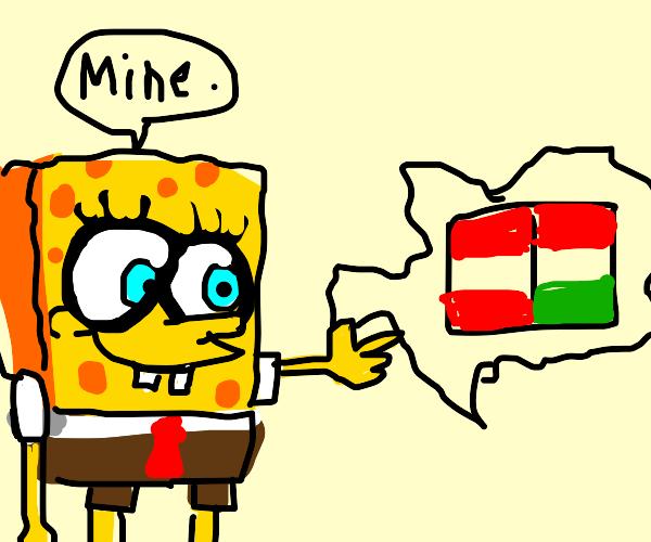 Spongebob annexes Austria-Hungary
