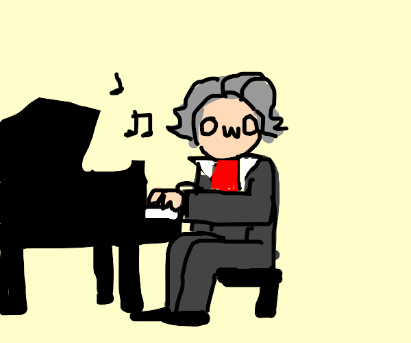 ...Beethoven OwO...