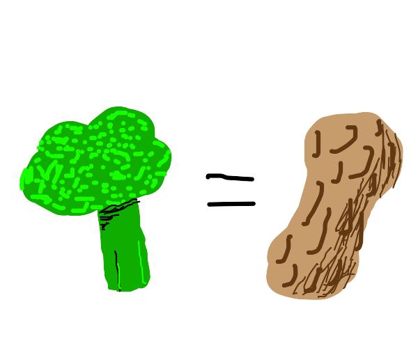 Broccoli Tastes Like Peanuts