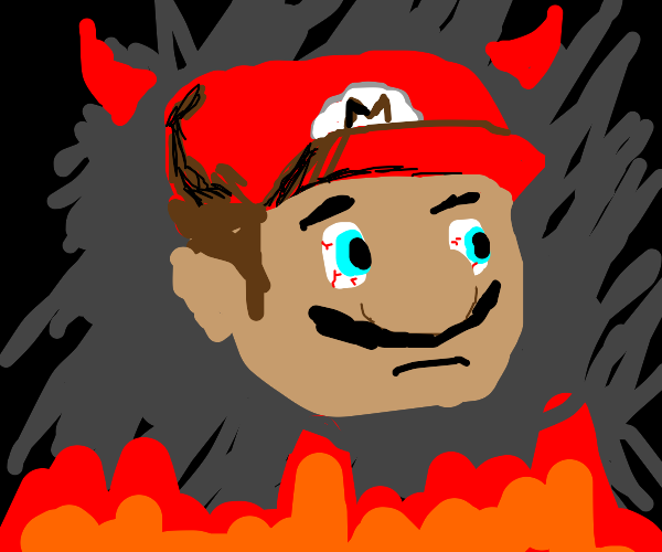 Mario has to confront his inner demons