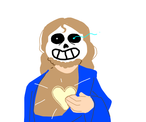 Sans is our Lord and savior