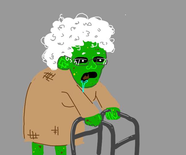 g-grandma? you okay?