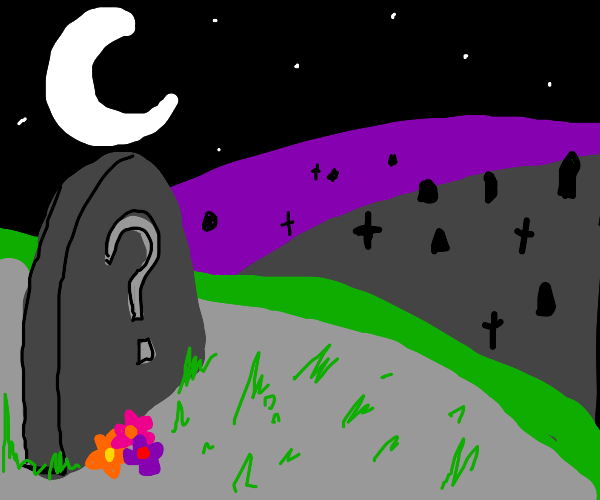 Mysterious grave