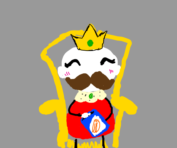 King with Ruffles Chip
