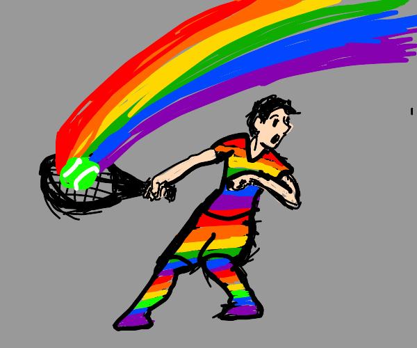Rainbow Tennis