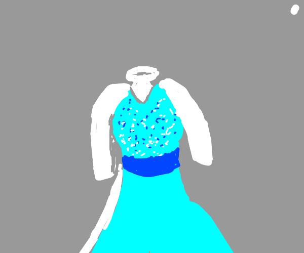 Fashion based on Princess Elsa