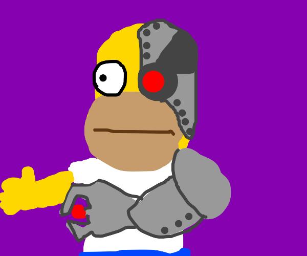 Cyborg simpson