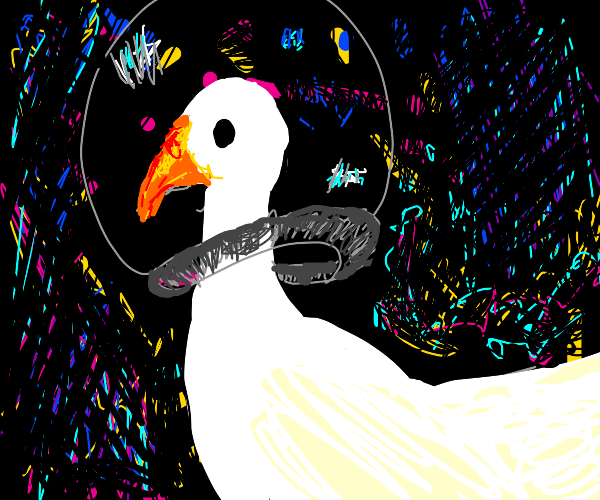 Space goose