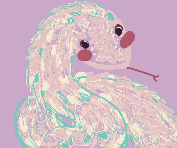 Cute Blushing snake!