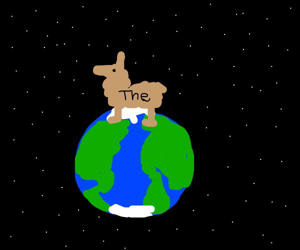 Llama the is the earth