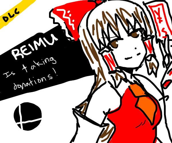 Reimu for DLC Smash