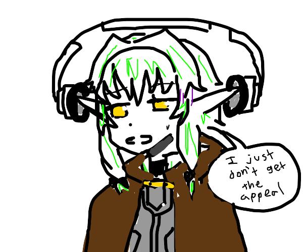 Why elves don't wear headphones