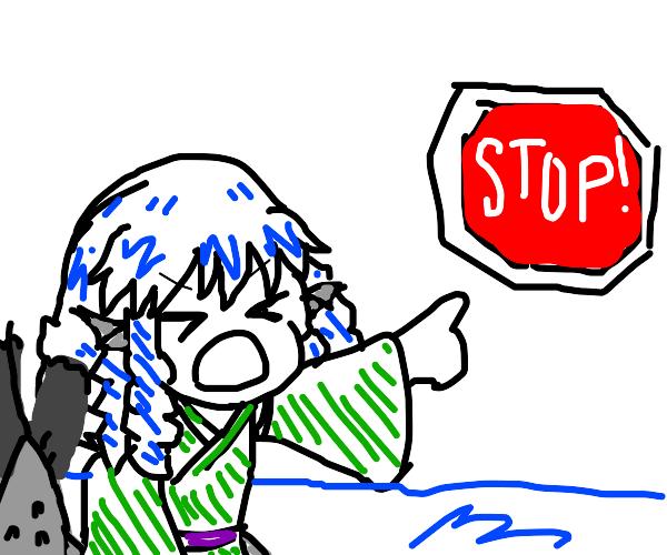 mermaid: STOP!