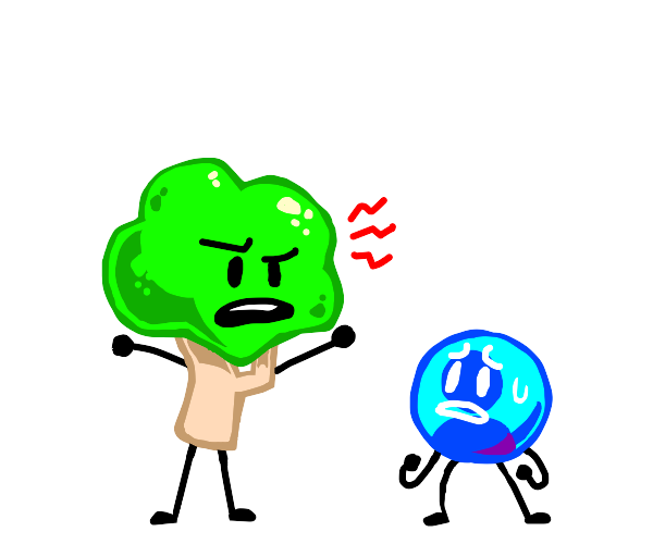 Bfb tree yelling at user