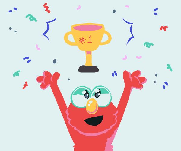 Elmo is the winner!