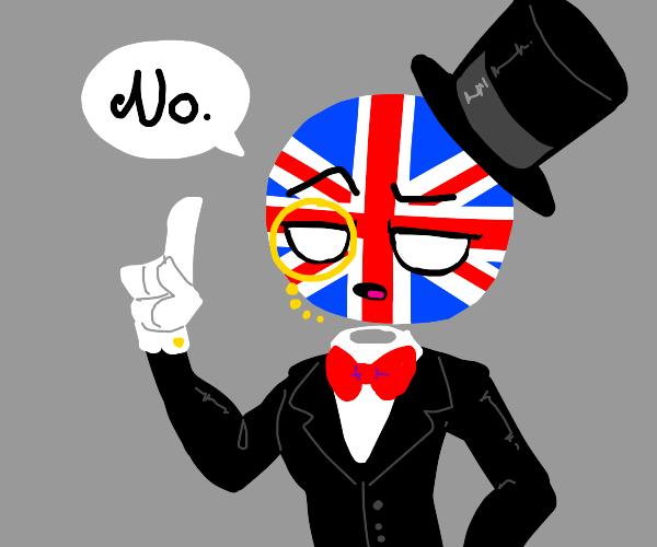 Countryhuman UK says no