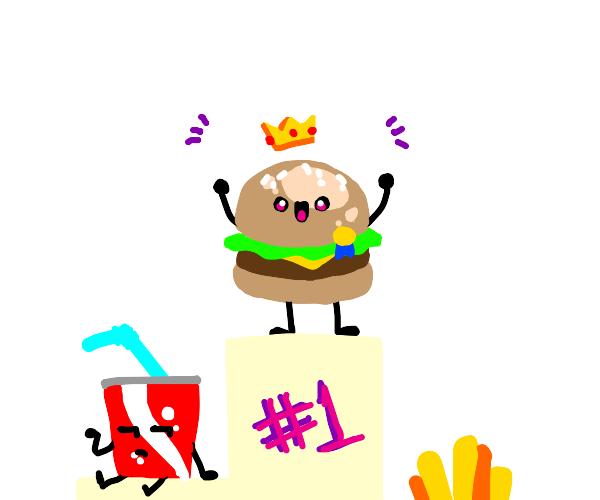 burger is winner