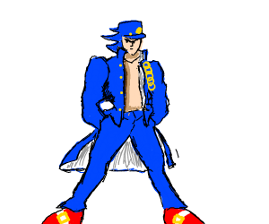 jotaro but its a sonic reference