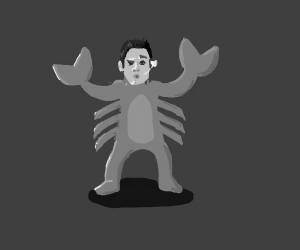 Seductive crab man