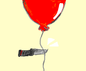 Cutting the Balloon's string