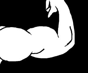 Flexing arm