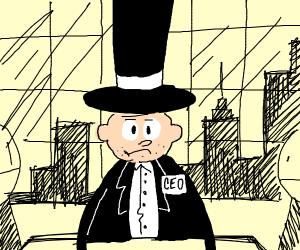CEO top hat guy