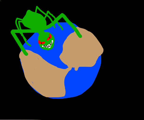 Bug conquers earth