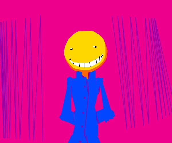 happy yellow man