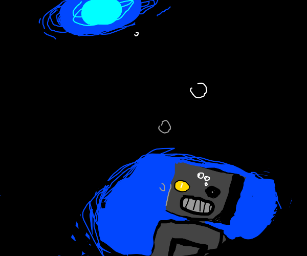 Drowning robot