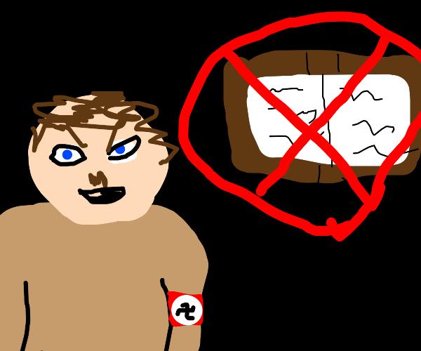 Hitler banned reading