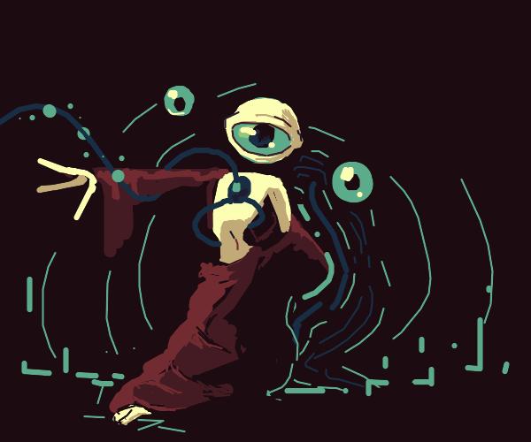 Portal eye guy