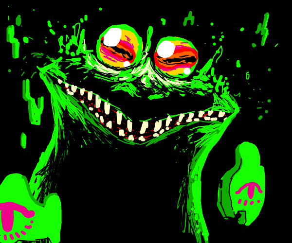 Ethereal Hypnotoad Sleep Paralysis Demon