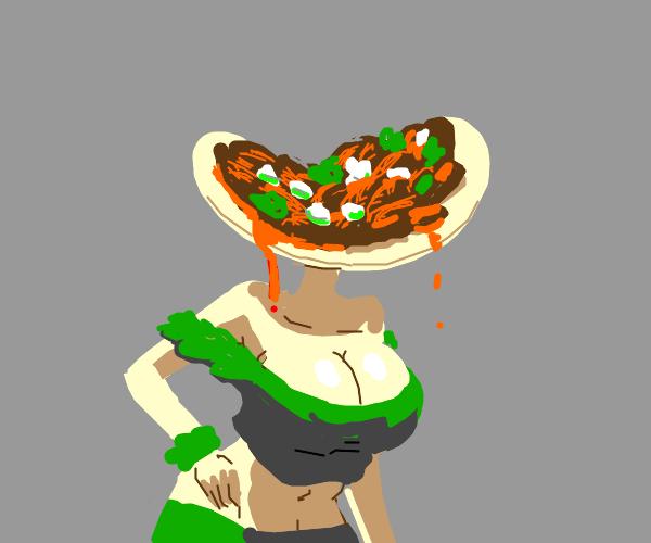 taco head lady
