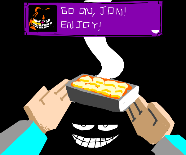 When you earned lasagna