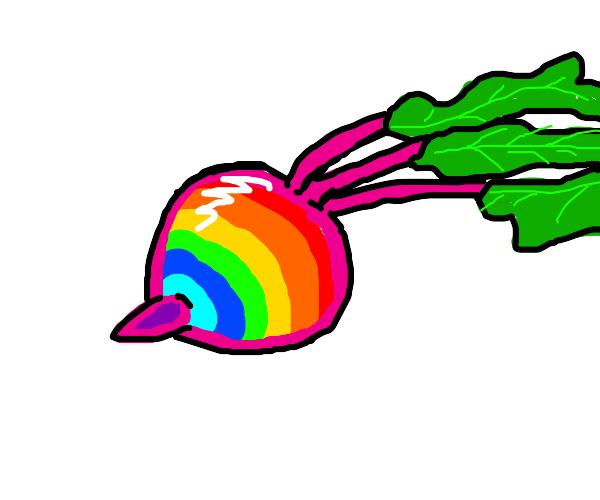 Rainbow beet