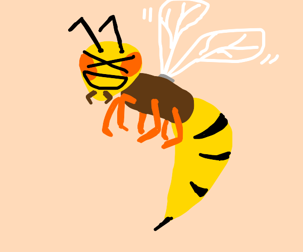 Wasp does an XD face