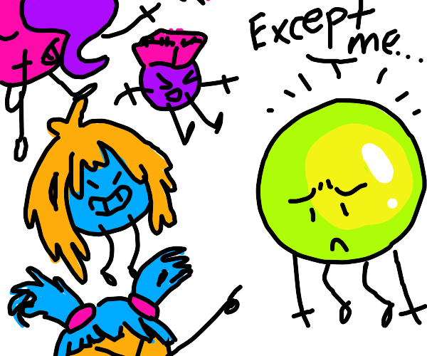 Hair orbs with limbs dont except bald orb