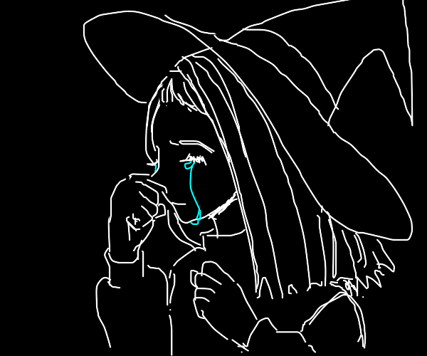 Crying witch