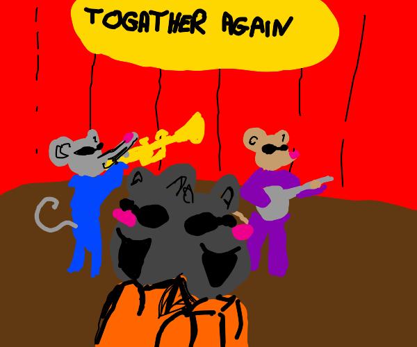 the four blind mice reunite
