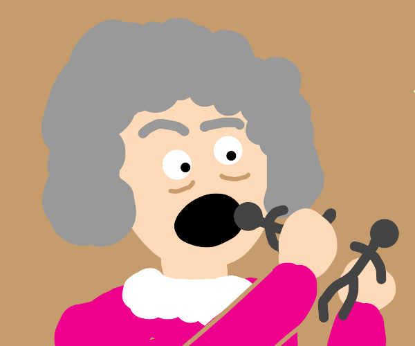 grandma eats sillhouetes